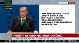 Cumhurbaşkanı Erdoğan: Akşam yatıyor yalan, sabah kalkıyor yalan