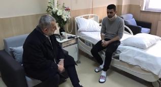 Hollanda'da polisin köpekle yaraladığı Türk tedavi için İstanbul'da
