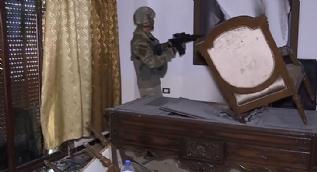 Mehmetçik Afrin´de terör örgütünün karargahını buldu