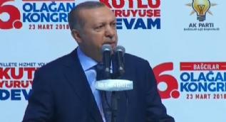 Cumhurbaşkanı Erdoğan: Afrin operasyonu´ndan rahatsız olanlar derin bir sessizliğe gömüldü