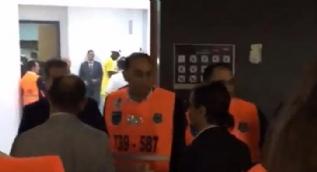 Nusret'e büyük şok  Fenerbahçe soyunma odasına almadılar