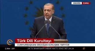 Cumhurbaşkanı Erdoğan: Alfabe değişikliğinden sonra sürecin doğru yönetilmemesinin acısını hala çekiyoruz