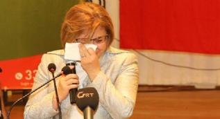 Fatma Şahin, annesini anlatırken ağladı