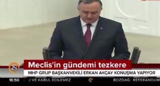 MHP Grup Başkan Vekili Akçay: PKK, PYD, DEAŞ taşeron terör örgütleridir, tehdit Türkiye'ye yöneliktir