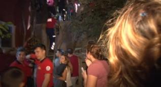 5 metre yükseklikten çatıya düşen kız çocuğu ağır yaralandı