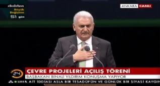 Başbakan Yıldırım: Kürt kimliğinizden gurur duyun. PKK'nın işi gücü size hayatı zehir etmek