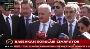 Başbakan Binali Yıldırım'dan 'af açıklaması