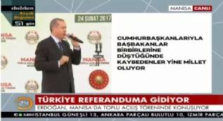 Erdoğan: Mevcut sistem dünkü Türkiye'nin bile ihtiyaçlarını karşılamıyordu