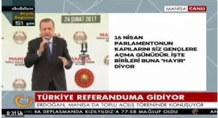 Erdoğan: Gerekirse İdam için de referandum yapabiliriz