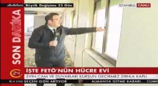 İşte FETÖ'nün Altunizade'deki hücre evinden görüntüler! 24 ekibi FETÖ elebaşı Gülen'in kaldığı o adreste