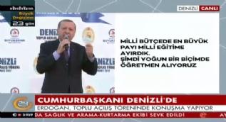 Cumhurbaşkanı Erdoğan:Tayyip Erdoğan size Faşist de diyecek Nazi'de diyecek!