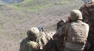 Komandoların katıldığı sınır ötesi operasyonda 55 terörist etkisiz hale getirildi