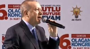 Cumhurbaşkanı Erdoğan müjdeyi verdi: Samsun´a yeni üniversite açıyoruz