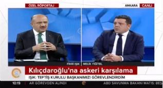 Bakan Işık: [Kılıçdaroğlu'na askeri karşılama] Teftiş kurulu başkanımı görevlendirdim, soruşturma başlayabilir