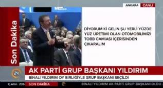 Cumhurbaşkanı Erdoğan istedi TOBB %100 yerli otomobil sözü verdi: Siz istedikten sonra biz bunu yaparız