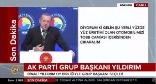 Cumhurbaşkanı Erdoğan: Şırnak Cizre'ye dönüşecek, Hakkari de Yüksekova'ya dönüşecek.