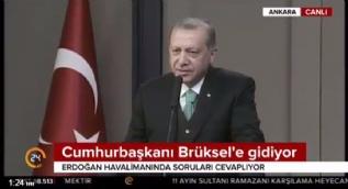 Cumhurbaşkanı Erdoğan: Brüksel seyahati sonrası MYK belirlenecek