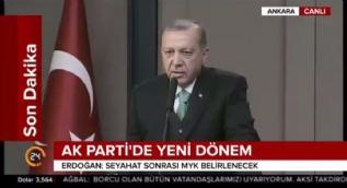 Erdoğan: AB, Türkiye'yi kendi kapısında bir dilenci mesabesinde göremez, böyle bir hakkı yok