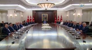 Kabineye katılan yeni isimlerle ilk Bakanlar Kurulu toplantısı