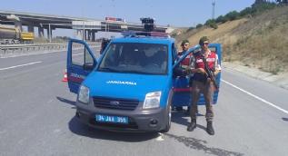 Jandarmadan hafriyat kamyonlarına 'PTS'li uygulama