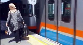 Yenikapı-Havalimanı metro seferlerine arıza engeli