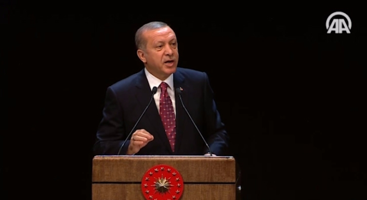 Cumhurba�kan� Erdo�an: Bu halka boyunduruk vuramayacaks�n�z