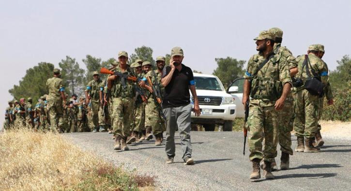 �zg�r Suriye Ordusu Keklice k�y�n� DAEޒten ald�