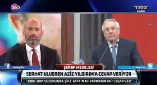 Serhat Ulueren'den Aziz Y�ld�r�m'a sert �a�r�
