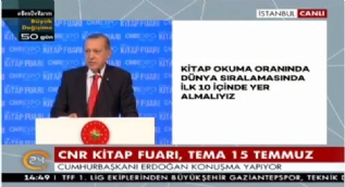 Erdoğan: 140 karaktere sığdırılmış aforizmalarla ancak yarım porsiyon aydın olursunuz