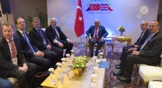 Başbakan Yıldırım, İngiltere Dışişleri Bakanı Johnson'ı kabul etti