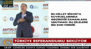 Cumhurbaşkanı Erdoğan: Sokakta hastalar taşınırdı,ne günler gördük!