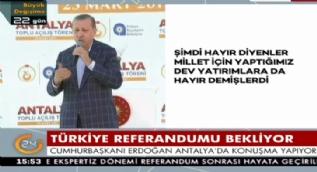 Cumhurbaşkanı Erdoğan: Ey kılıçdaroğlu !Sen yalan makinesisin