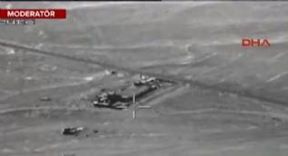 TSK, Sincar'ın bombalanma görüntülerini paylaştı