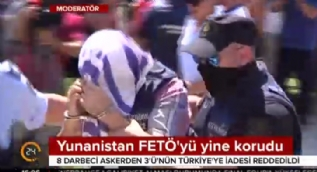 Yunanistan FETÖ'yü yine böyle korudu