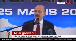 Bakan Soylu: Silahlı terör örgütüne üye olma, propaganda yapma suçlarından yürüyen ceza davaları olduğunu neden kimse yazmıyor
