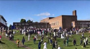 Newcastle'da yaşanan saldırı sonrası ortaya çıkan görüntüler