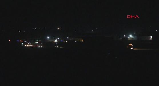 Irak yönünden Suriye´ye gelen ABD konvoyu görüntülendi