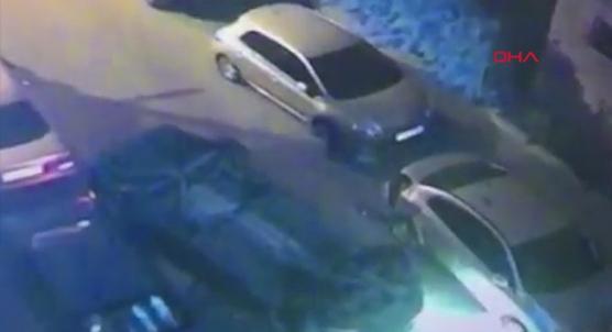 Tartışma sonrası sinirle gaza basan sürücü araçlara çarpıp takla attı