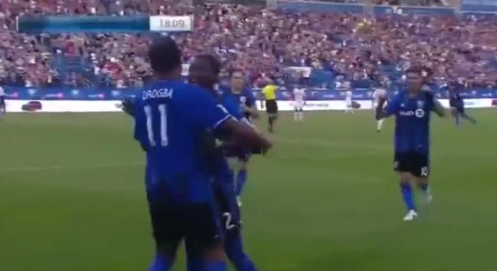 Didier Drogba'dan hat-trick
