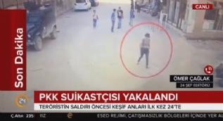 PKK suikastçısı yakalandı