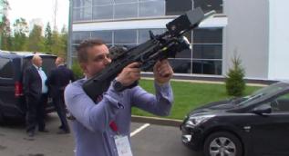 Rusya mermisiz anti-drone REX-1 silahını tanıttı