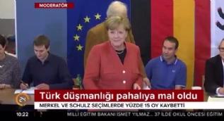 Merkel'in Türk düşmanlığı pahalıya mal oldu!