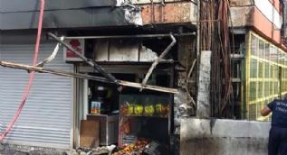 İstanbul Şirinevler metrosunda yangın çıktı