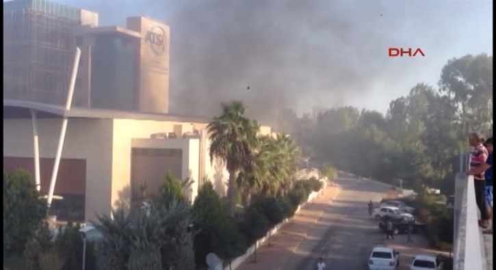 Antalya Ticaret Odas�'nda patlama