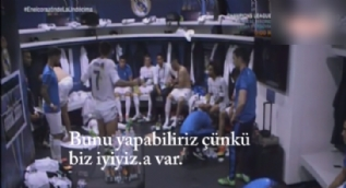 Ronaldo'nun �ampiyonlar Ligi finalindeki konu�mas�
