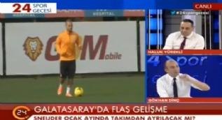 Galatasaray'da Sneijder bombas�