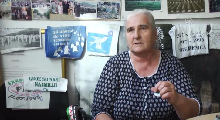 Srebrenitsal� kurban yak�nlar� adalet bekliyor