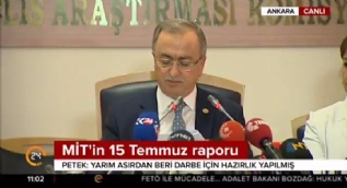Reşat Petek: 15 Temmuz darbe girişimi ülkemiz dışındaki bazı odakların desteklediği Fetullah Gülen liderliğinde olmuştur
