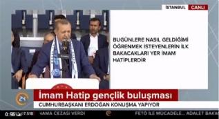Cumhurbaşkanı Erdoğan: Eğitimde özgürlüğün önüne biz var oldukça kimse geçemez