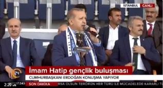 Cumhurbaşkanı Erdoğan: Talimat verdim 'Arena' adı stadyumlardan kaldırılacak